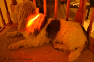 Yikes - I am glowing!