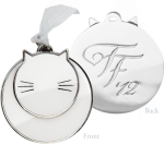 I think my kitties will like this ornament!