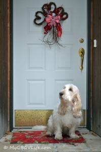 Valentines Front Door