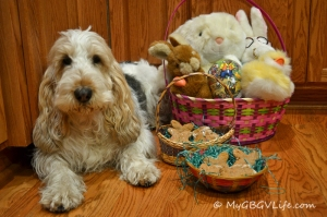 The finished product in Easter baskets!
